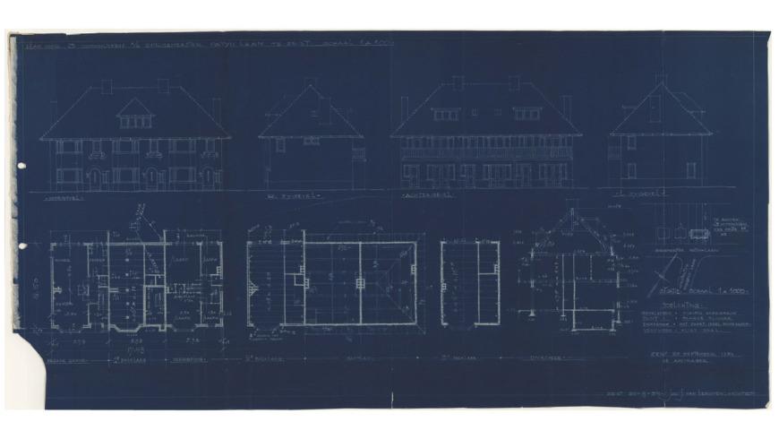 Uitbouw jaren 30 woning (3)